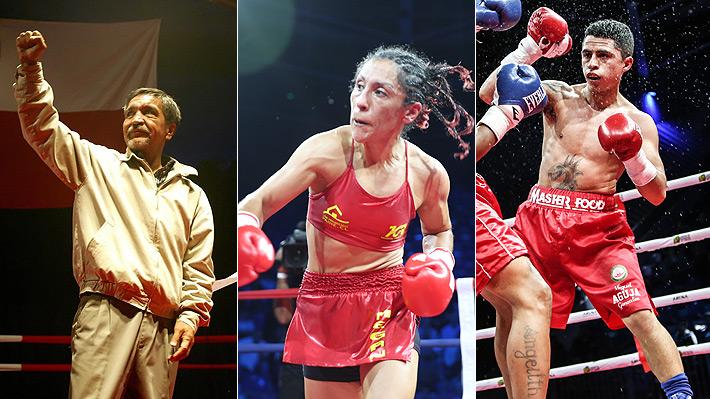 """Martín Vargas, Cardenio Ulloa, """"Aguja"""" González... Las peleas más importantes del boxeo chileno en el último tiempo"""