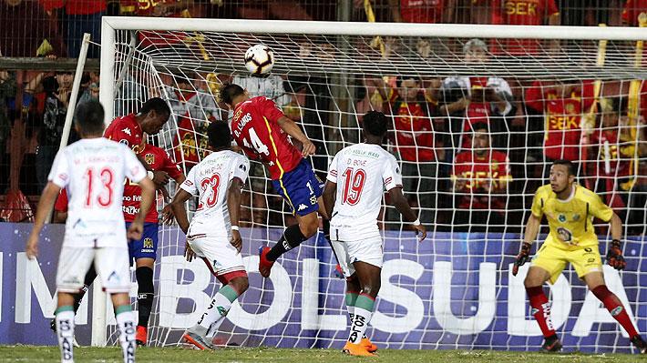 Unión casi es sorprendido, pero salva en la agonía un empate ante el debutante Mushuc Runa en la Sudamericana