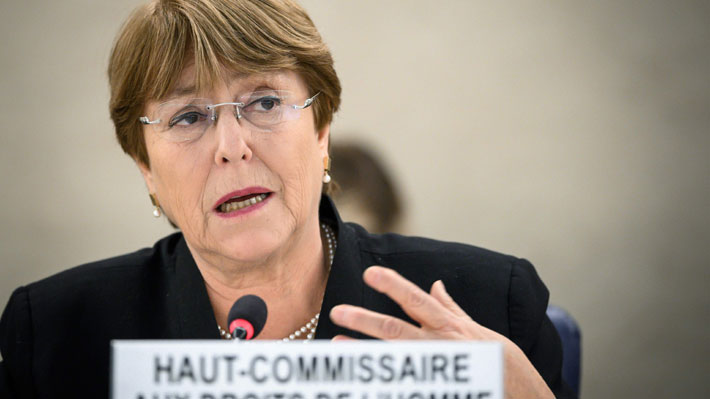 """Bachelet denuncia """"numerosas violaciones a los derechos humanos"""" cometidas por las fuerzas de seguridad de Venezuela"""