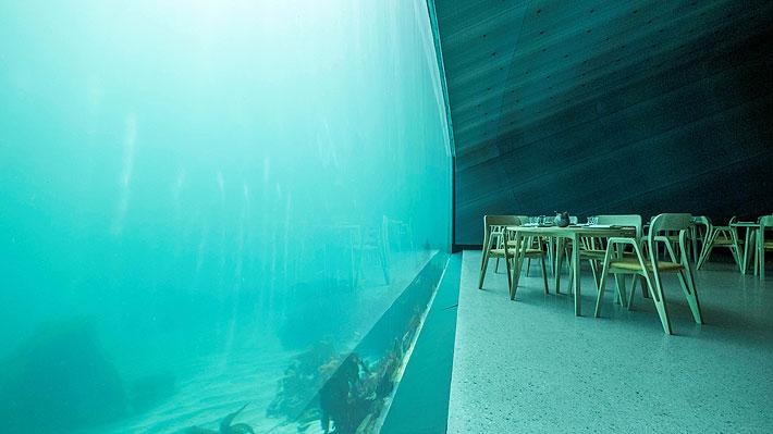 Inauguran en Noruega el primer restaurante subacuático de Europa: una comida completa cuesta unos $286 mil