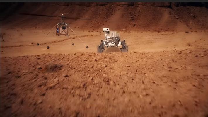 La NASA soluciona los últimos detalles del helicóptero que enviarán a Marte el próximo año