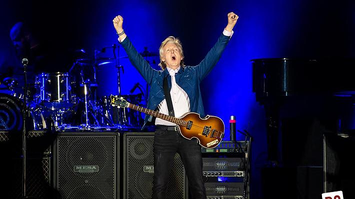 Emoción con los clásicos de The Beatles y pifias al Presidente Piñera marcan concierto de Paul McCartney en Chile