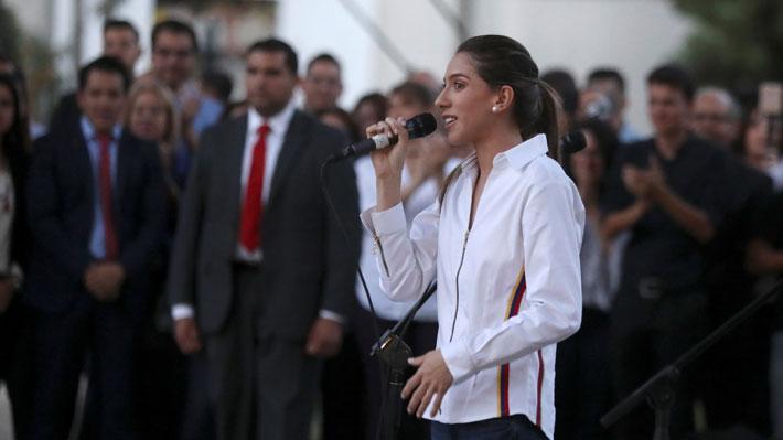 Esposa de Guaidó relaciona detención de asesor en Venezuela con informe entregado por Bachelet