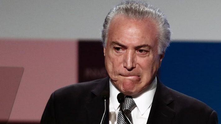 Detienen al ex Presidente brasileño Michel Temer por supuesta participación en caso Lava Jato