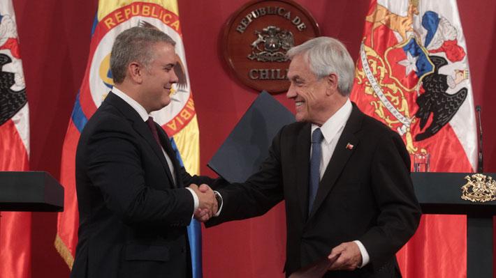 Duque sorprende y agradece a Piñera por recibir militares venezolanos que desertaron del régimen de Maduro