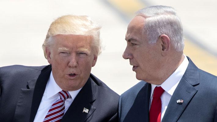 """Trump desata polémica tras declarar que """"es hora"""" de que EE.UU. reconozca los Altos del Golán como territorio israelí"""