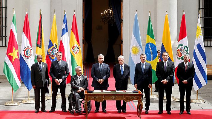 Crecimiento, diálogo y respeto a la democracia: Conoce los seis puntos que se acordaron en la cumbre Prosur