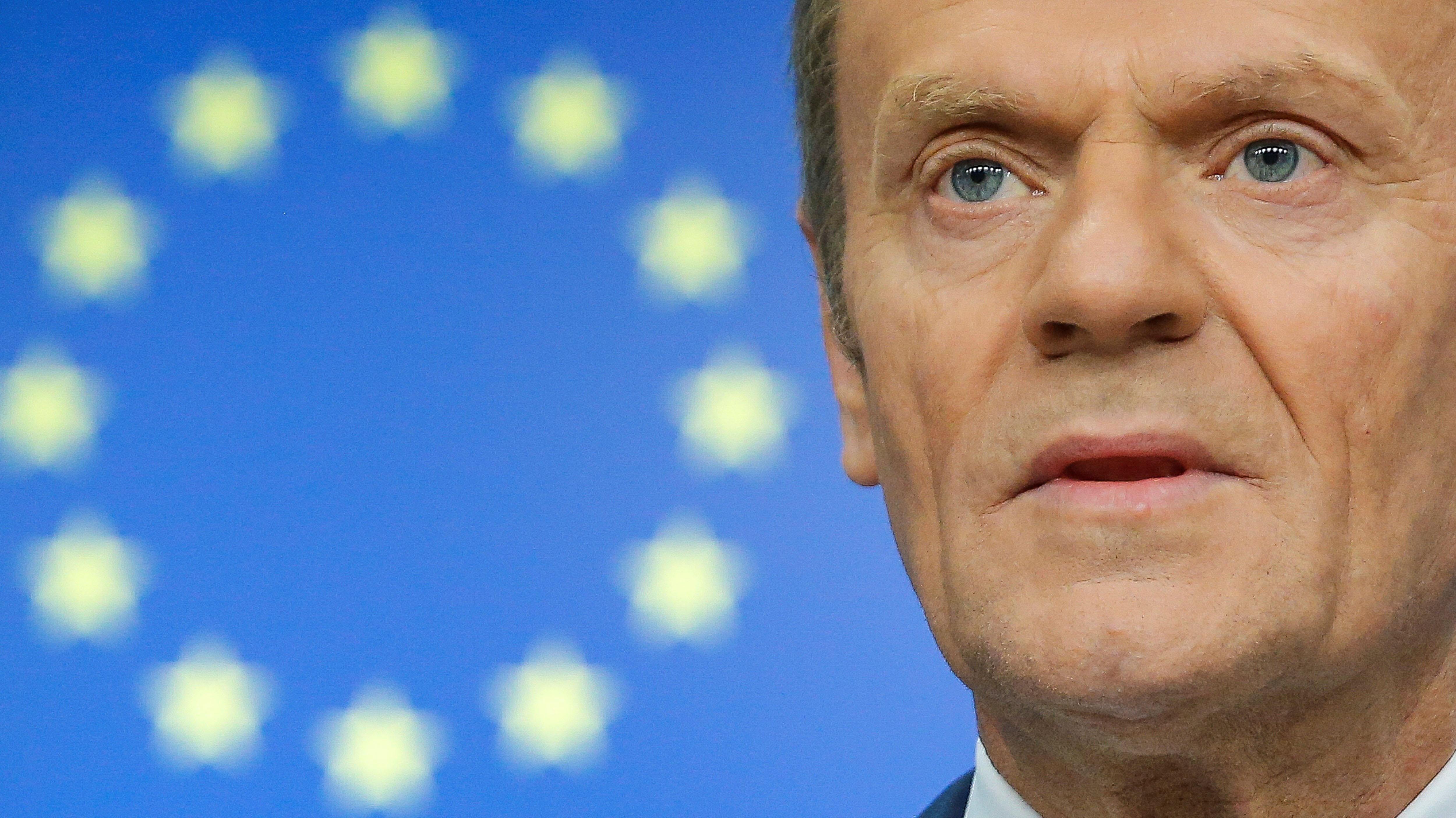 """Presidente del Consejo Europeo le dice a los británicos que el """"destino del Brexit"""" está en sus manos"""