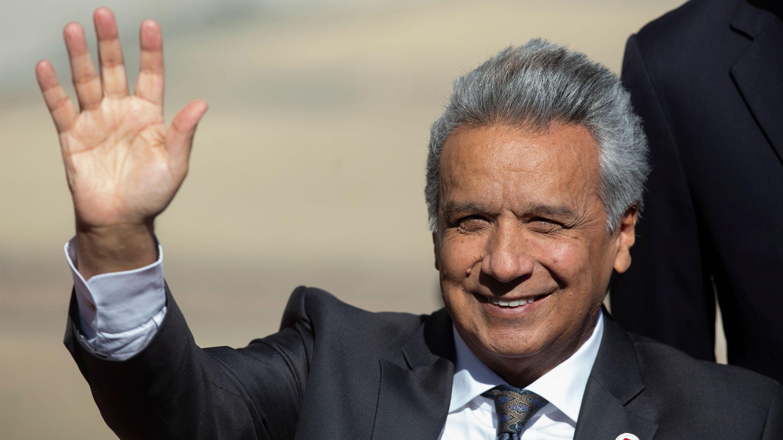 """Presidente de Ecuador acusa en pleno Prosur a Maduro y Rafael Correa de querer """"desestabilizar"""" su gobierno"""