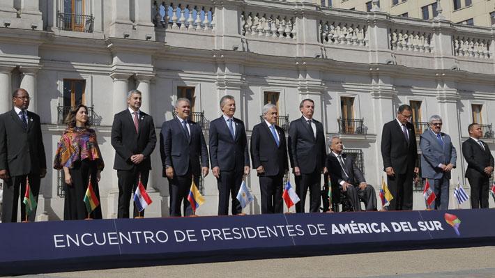 La espera de Macri, chapitas y cumpleaños: Los entretelones de la cumbre Prosur