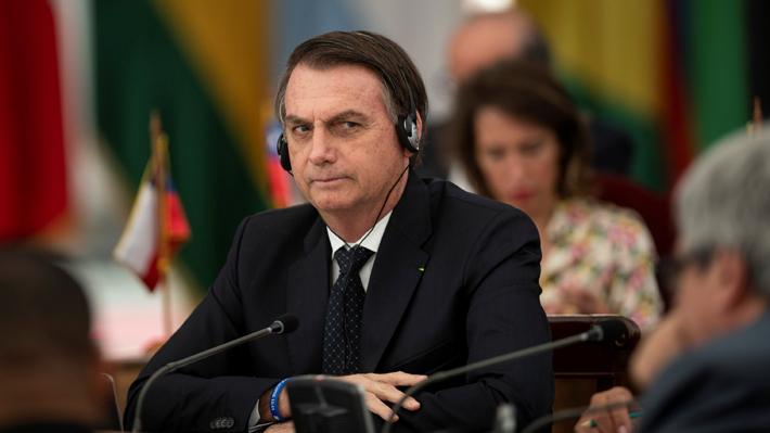 "Bolsonaro responde a críticas de parlamentarios chilenos en su contra: ""Son fake news"""