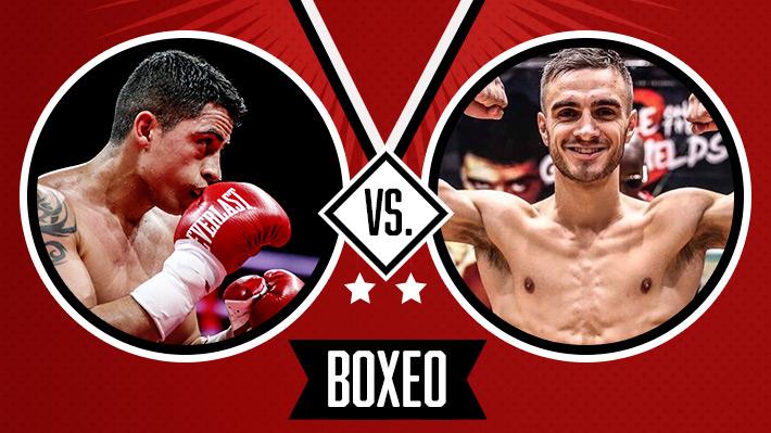 """Así fue el combate del """"Aguja"""" González en la pelea más importante del último tiempo para el boxeo chileno"""