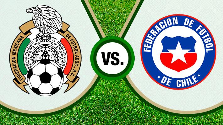 Repase la dura derrota de Chile ante México con miras a la Copa América