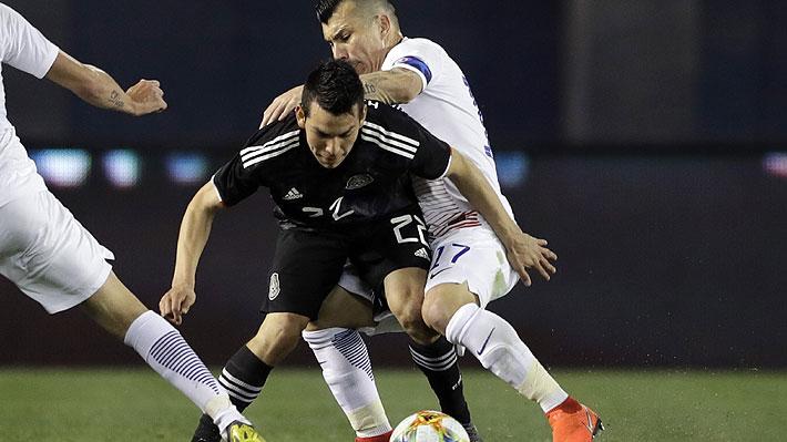 Vidal y Medel los únicos rescatables: El uno a uno de Chile en su dura derrota ante México