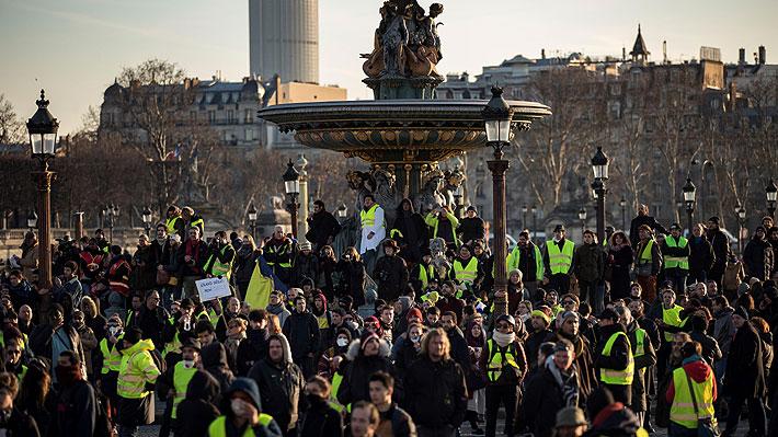 """Una nueva movilización de los """"chalecos amarillos"""" en Francia es marcada por el refuerzo de medidas de seguridad"""