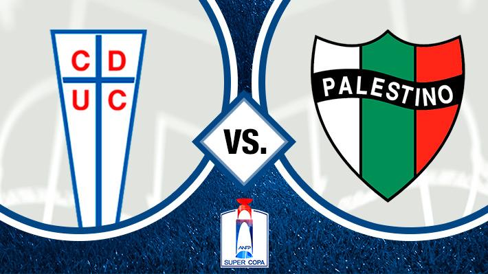 Revisa la goleada de Universidad Católica sobre Palestino en la final de la Supercopa de Chile