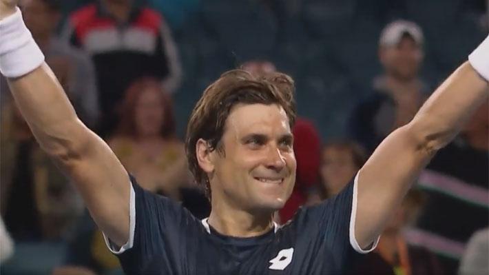 El público lo ovacionó de pie: El emotivo triunfo de Ferrer ante el 3 del mundo en uno de los últimos torneos de su exitosa carrera
