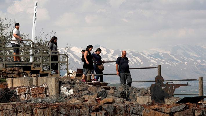 La historia detrás de los Altos del Golán, la meseta cuya soberanía se pelean Israel y Siria
