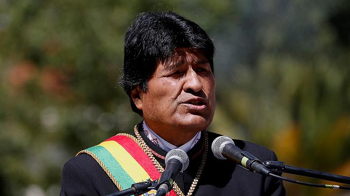 """Evo Morales confía en """"afectar económicamente a Chile"""" para que """"ellos busquen a Bolivia para negociar"""" una salida al mar"""