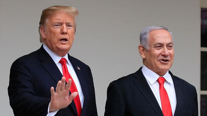 Trump firma reconocimiento de soberanía de Israel sobre los Altos del Golán