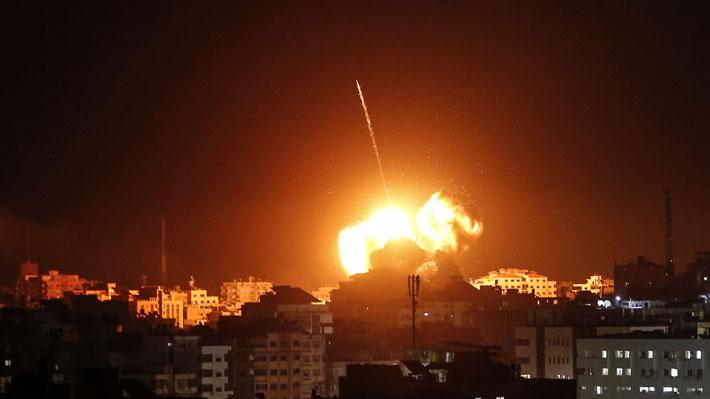 Oficina de líder de Hamas en Gaza fue alcanzada por bombardeo israelí en represalia a ataque