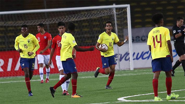 """Ecuador sigue líder y la """"Roja"""" se complica en el fondo: Cómo marcha y lo que viene para Chile en el Sudamericano Sub 17"""