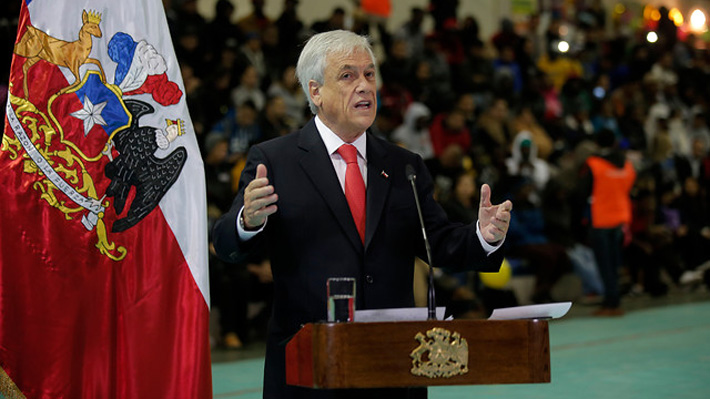 """Piñera previo a cita con líderes de la oposición: """"Hago un llamado a recuperar un clima de mayor diálogo"""""""