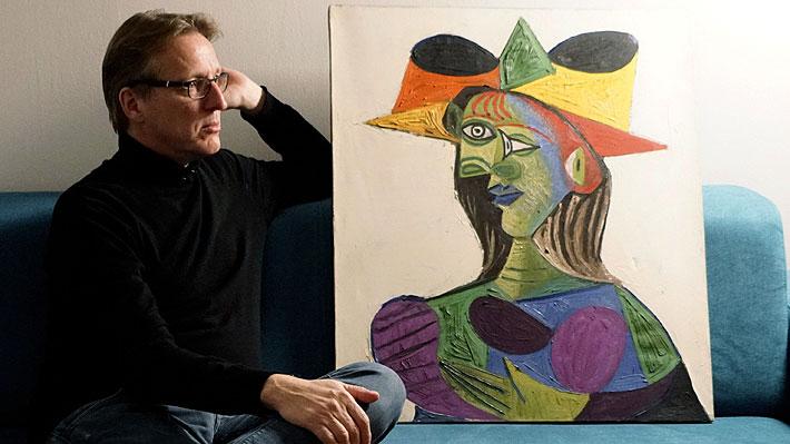 """Investigador encuentra """"Busto de mujer"""", el cuadro favorito de Picasso que estaba perdido desde hace 20 años"""