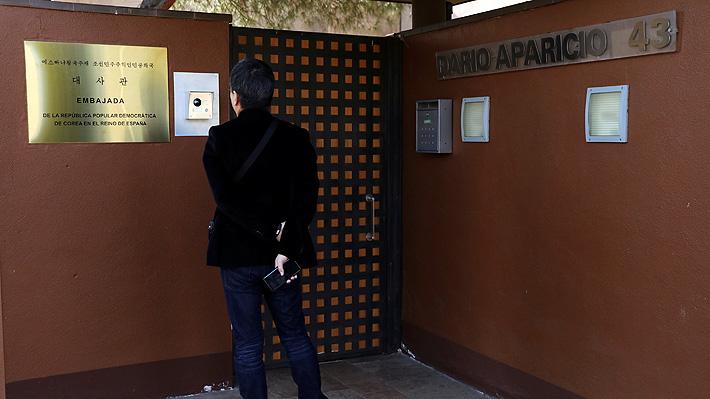Hombre que lideró asalto a embajada norcoreana en Madrid ofreció la información robada al FBI