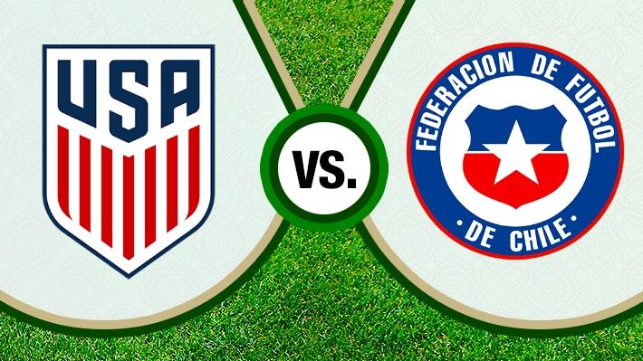 """Así fue el empate de la """"Roja"""" ante Estados Unidos por la fecha FIFA"""