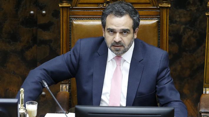 Presidente del Senado cuestiona respaldo de ministro de Justicia a Orpis en caso Corpesca