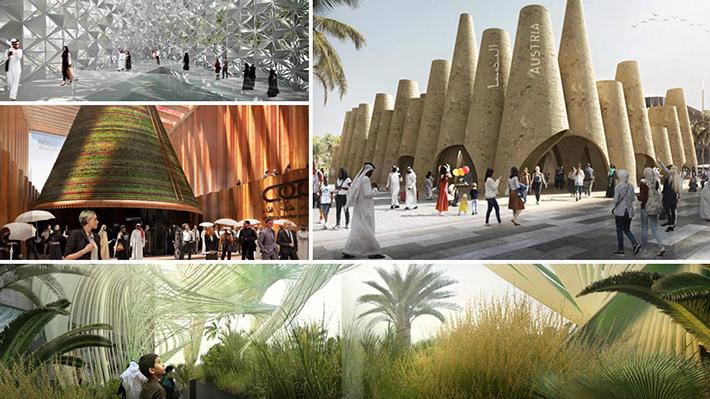 Galería: Así serán los pabellones de la Expo Dubai 2020