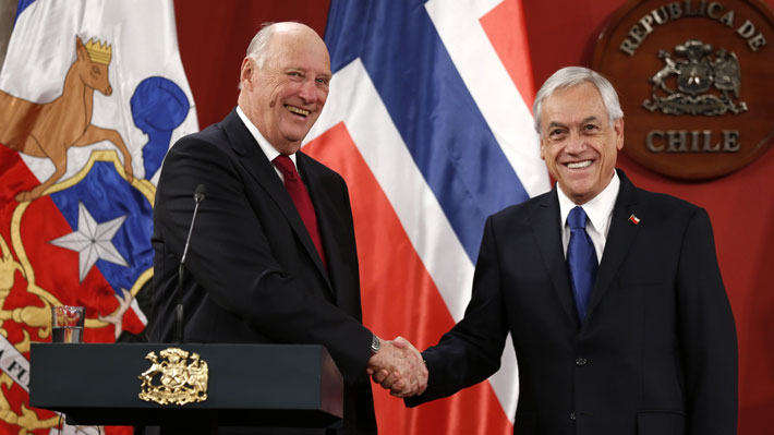 Piñera agradece a Noruega por colaborar en organización de COP25  que se efectuará en Chile