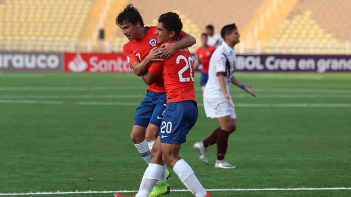 Chile golea a Venezuela, suma su primera victoria en el Sudamericano Sub 17 y depende de sí mismo para clasificar
