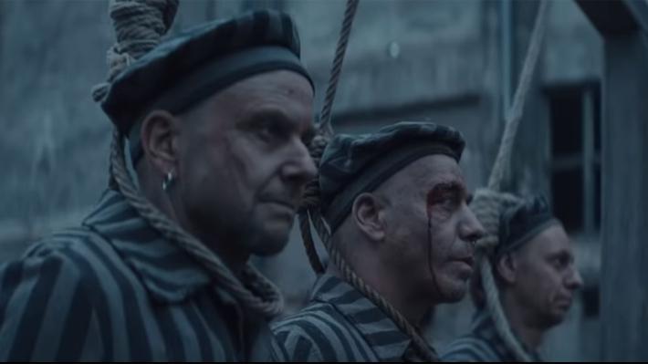 Polémico video de Rammstein muestra a sus integrantes vestidos como prisioneros de un campo de concentración nazi