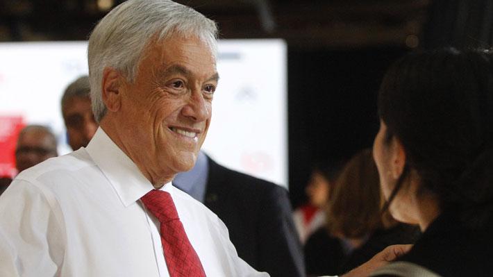 "Piñera pide a timoneles de oposición terminar con ""clima de guerrilla"" y ayuda para ""sacar adelante reformas"""