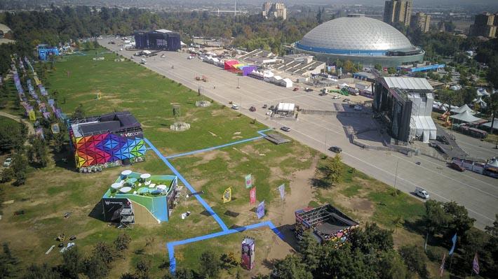 Lollapalooza parte hoy con reforzamiento de seguridad por Día del Joven Combatiente y servicio especial de buses