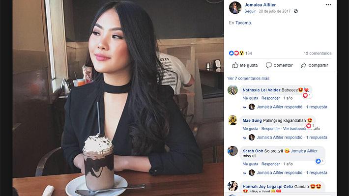 9982cac19 Jomaica Alfiler inició una campaña a través de las redes sociales, para  poder dar con el paradero de un sujeto