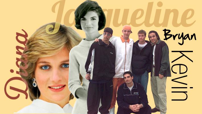 Bryan y Kevin en los 90's y Jacqueline en los 60's: Cómo figuras internacionales han influido en nombres de los chilenos