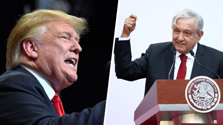 Trump amenaza a México con cerrar su frontera si no evita paso de caravana migrante
