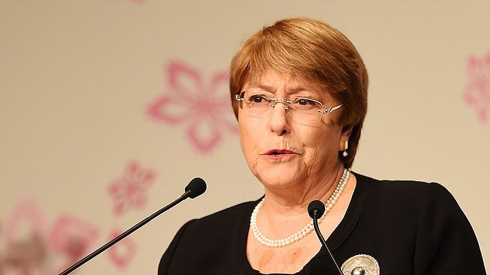 Bachelet viajará a México para reunirse con autoridades y defensores de DD.HH.