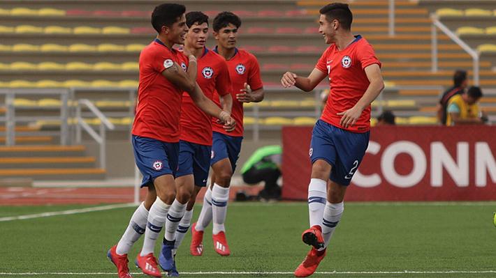 """La """"Roja"""" brilla, golea a Bolivia y asegura un cupo en el hexagonal final en el Sudamericano Sub 17"""