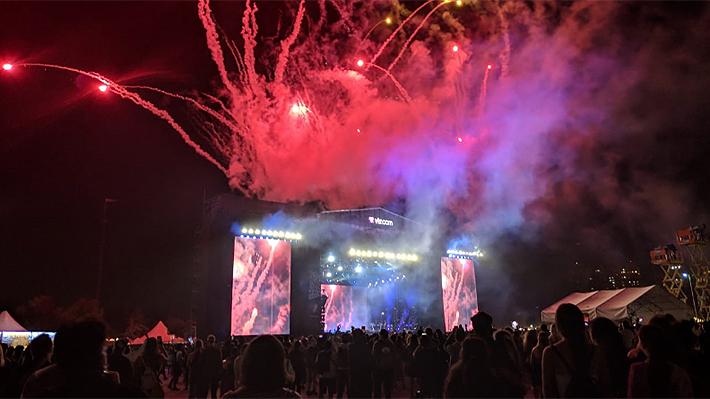 Lamar y Kravitz dieron multitudinario cierre a la accidentada primera noche de Lollapalooza