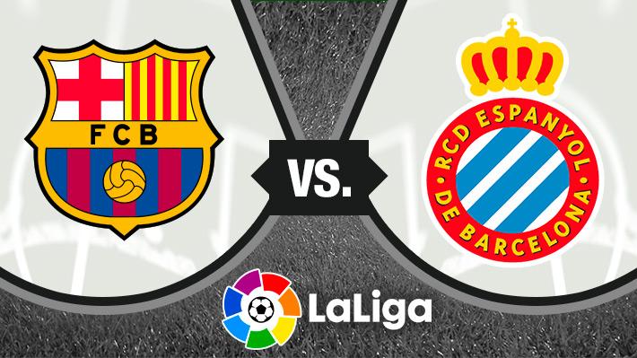 Mira cómo fue la victoria del Barcelona sobre el Espanyol en la Liga de España