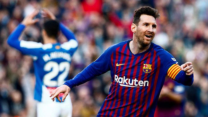 Uno fue de tiro libre: Mira los dos goles con los que Messi le dio una nueva victoria al Barcelona
