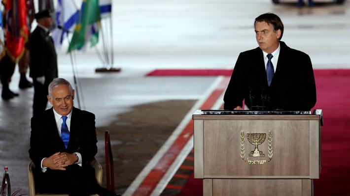 """Bolsonaro en gira por Israel: El Gobierno brasileño """"está firmemente decidido a fortalecer la asociación"""""""