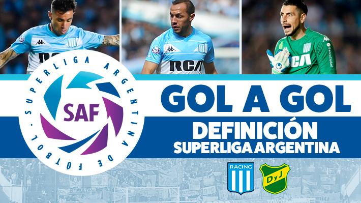 Resultado de la definición de la Superliga Argentina: Racing salió campeón con los chilenos en cancha