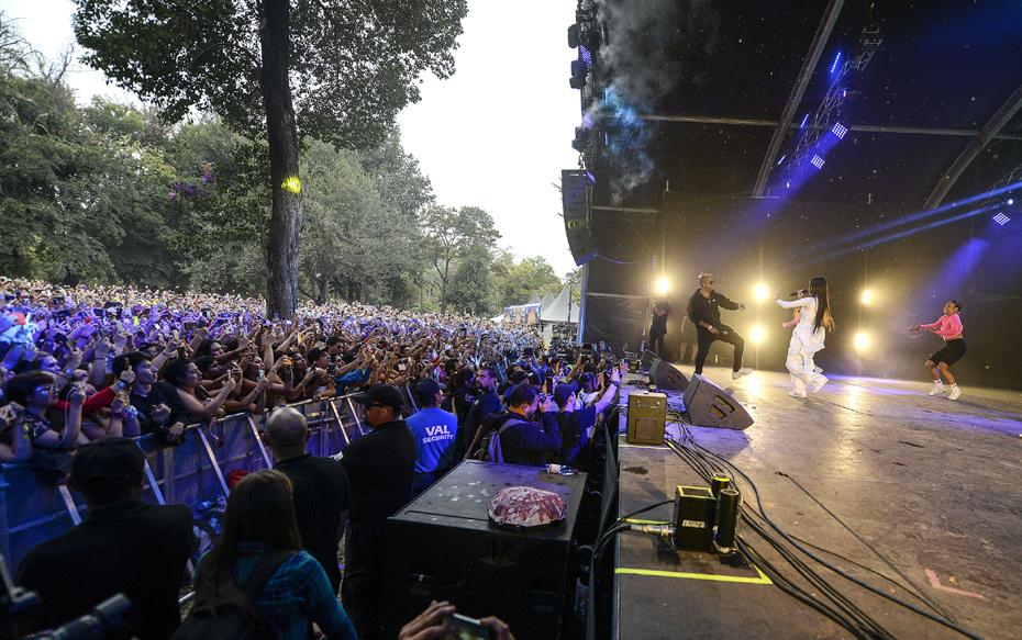 Galería: Revisa los mejores momentos que dejó el segundo día de Lollapalooza 2019