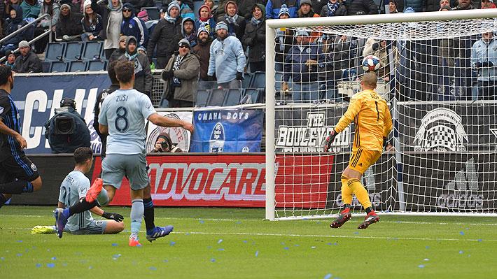 Felipe Gutiérrez anotó en goleada del Sporting Kansas en Estados Unidos: Mira el tanto