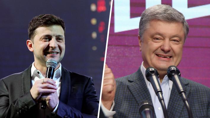 Elecciones en Ucrania: Sondeo indica que comediante y el actual Presidente disputarán segunda vuelta